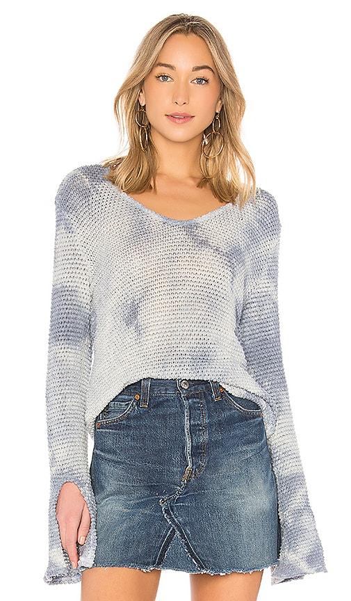 LA Made Bali Sweater in Baby Blue