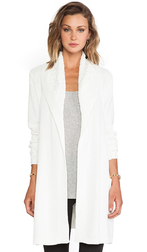 Shawl Collar Trench Cardigan