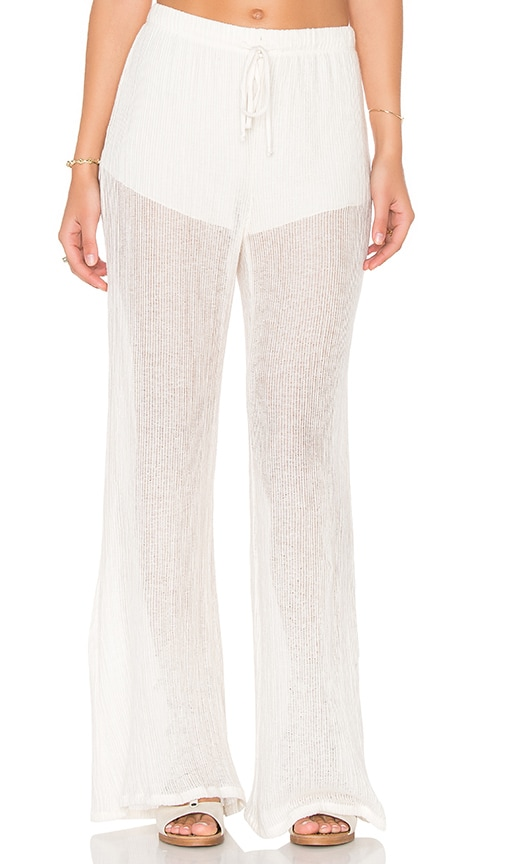 LA Made Ollie Flare Pant in Beige