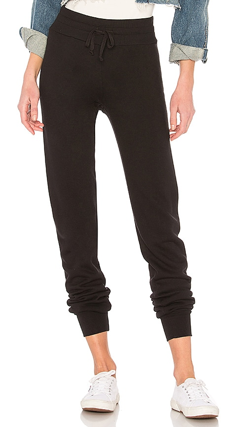 LA Made Slim Sweat Pant in Black