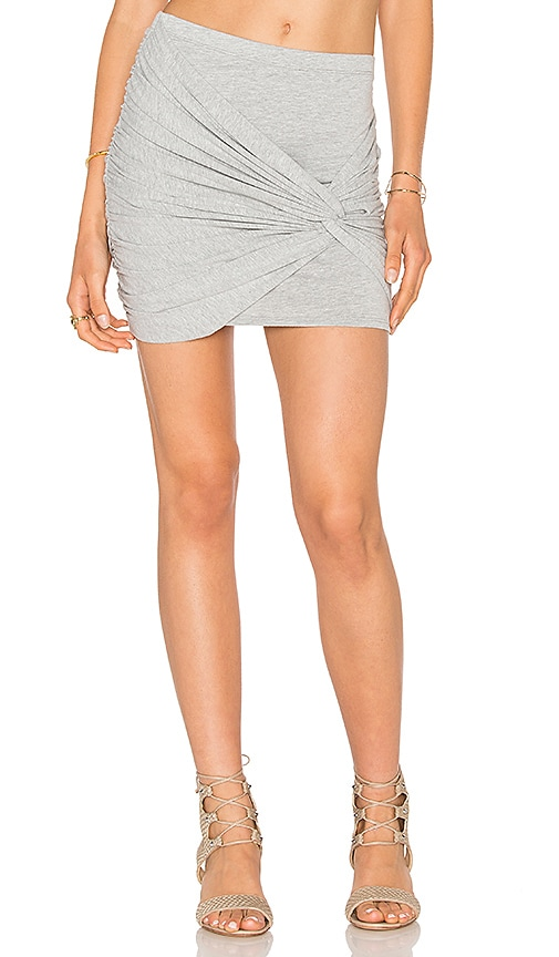 LA Made Lucia Skirt in Gray