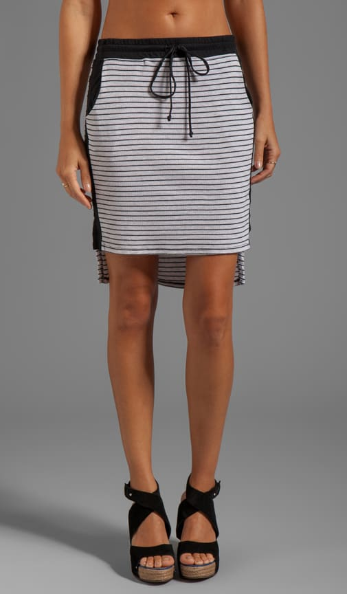 High-Low Pencil Skirt