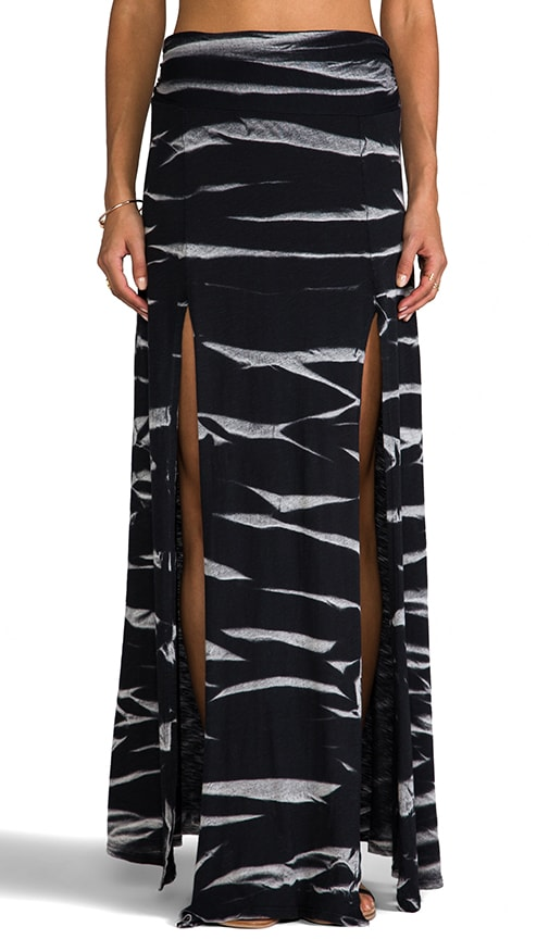 Horizon Wash on Jersey Double Slit Maxi