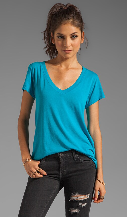 Low V Neck BF Tee