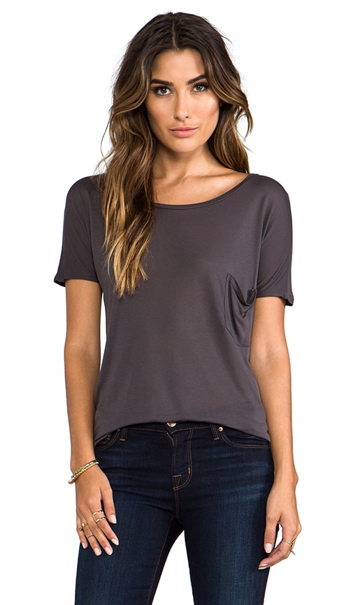 Micromodal Drop Shoulder Tee