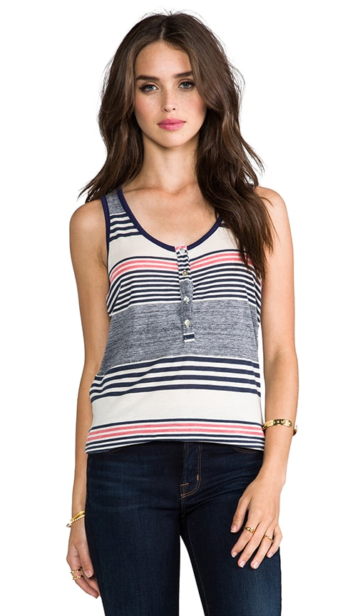 Racerback Placket Tank