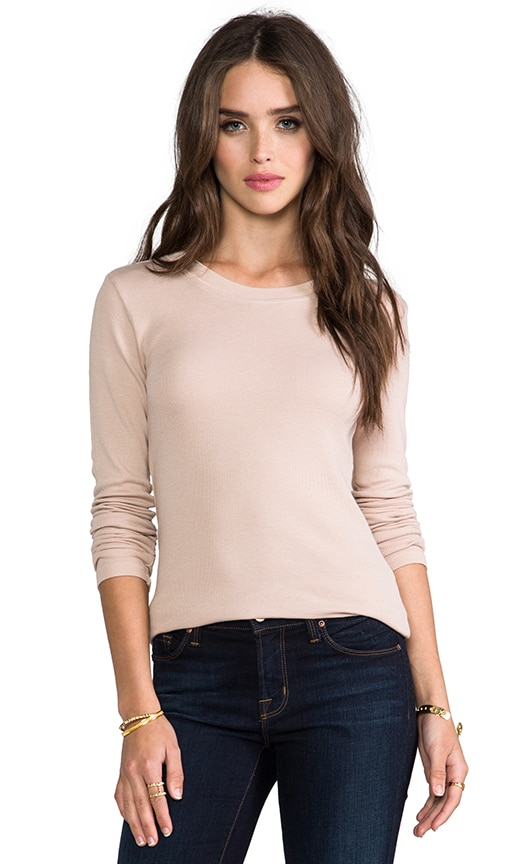 Thermal Long Sleeve Crew Top