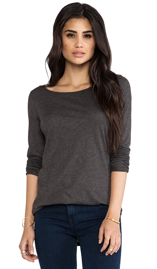 Luxury Jersey Lazy Long Sleeve Tee