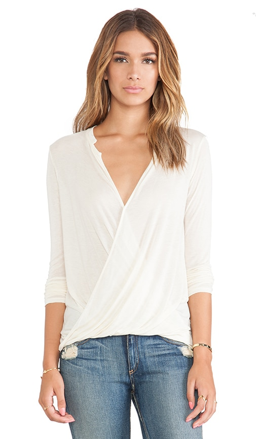 Cross Over Draped Top