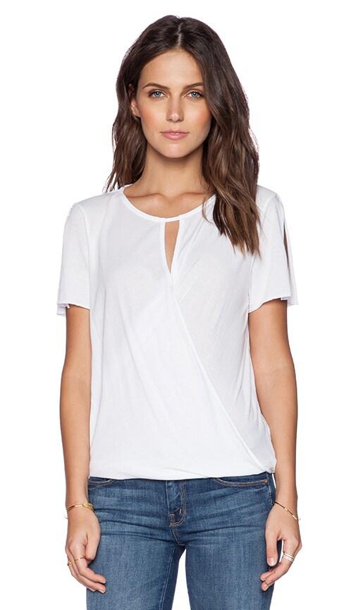 LA Made Farrah Top in White
