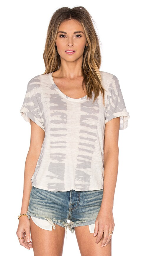 LA Made Chloe Tee in Gray