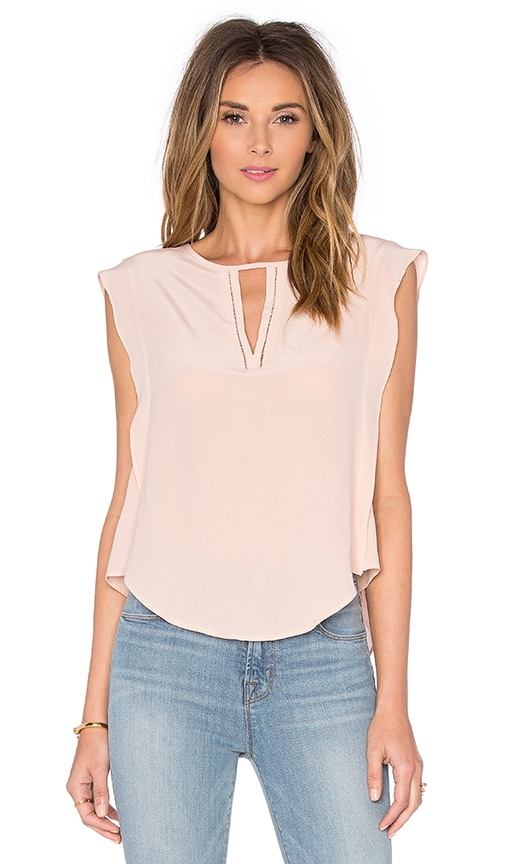 LA Made Rosalie Top in Blush