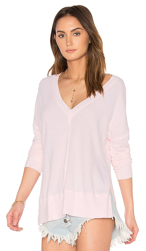 LA Made Erica Thermal Top in Pink