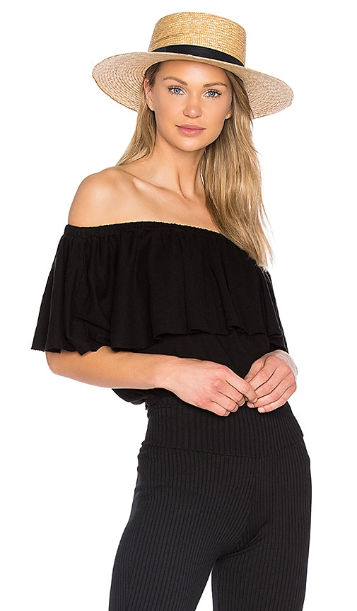 LA Made Rosane Top in Black