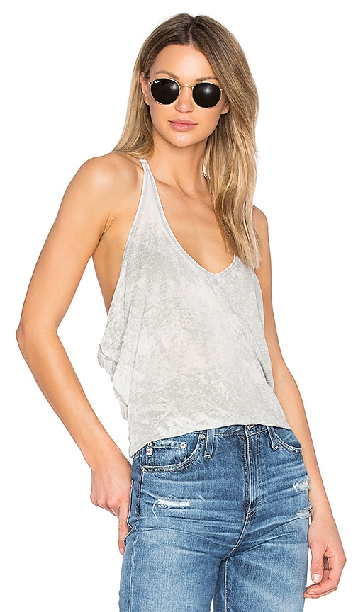 LA Made Serena Tank in Gray