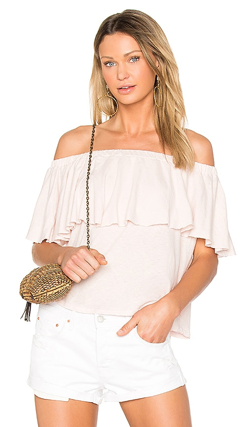 LA Made Rosane Top in Pink