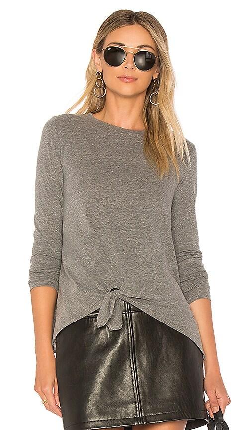 LA Made Mia Top in Gray