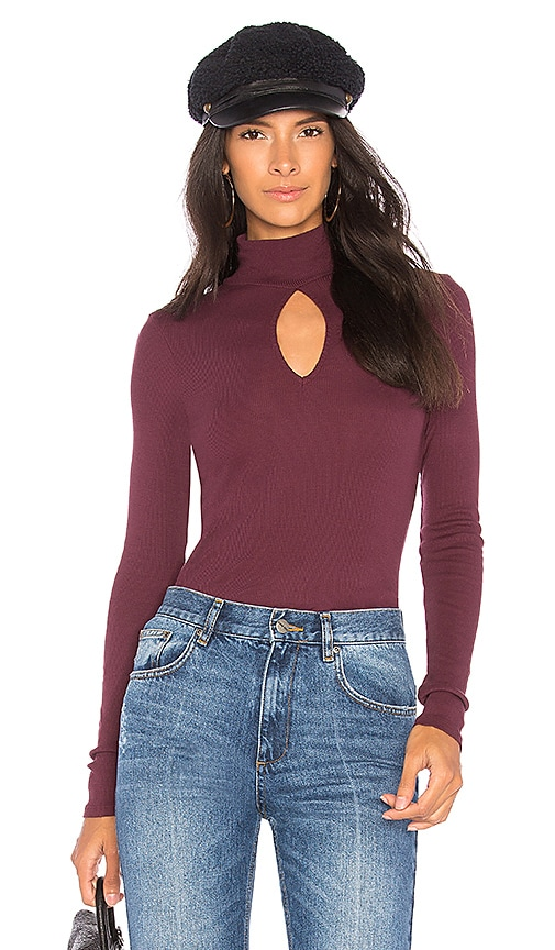 LA Made Harley Top in Burgundy