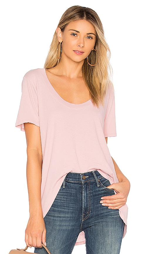 LA Made Luna Tee in Pink