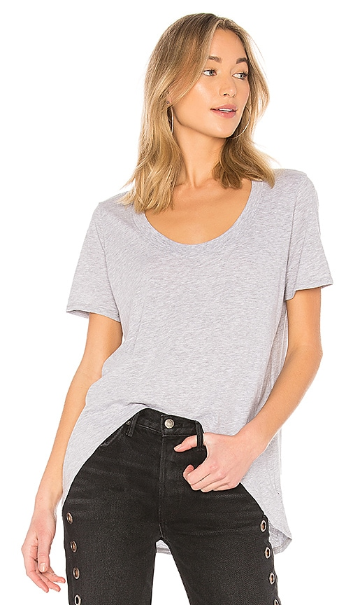 LA Made Luna Tee in Gray