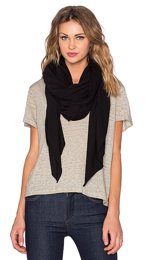 LA Made Zingo Scarf in Black