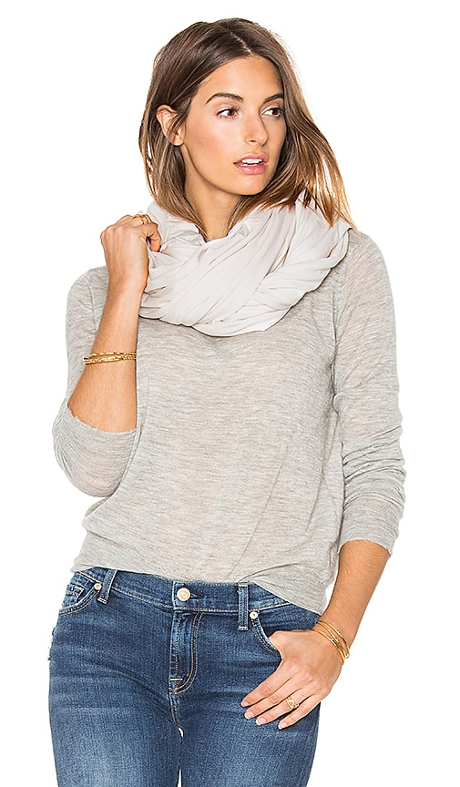 LA Made Zingo Scarf in Beige