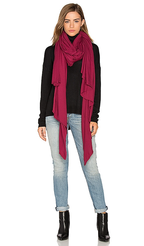 LA Made Zingo Scarf in Fuchsia