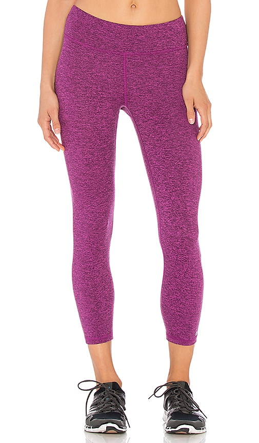 Lanston Sport x REVOLVE Cropped Legging in Mulberry Plum