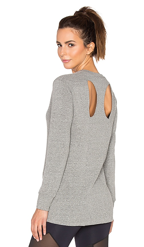Cutout Back Sweatshirt