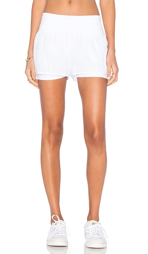 Foldover Double Layered Short