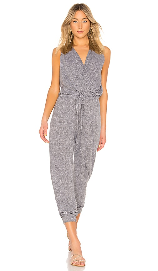 Surplice Jumpsuit by Lanston