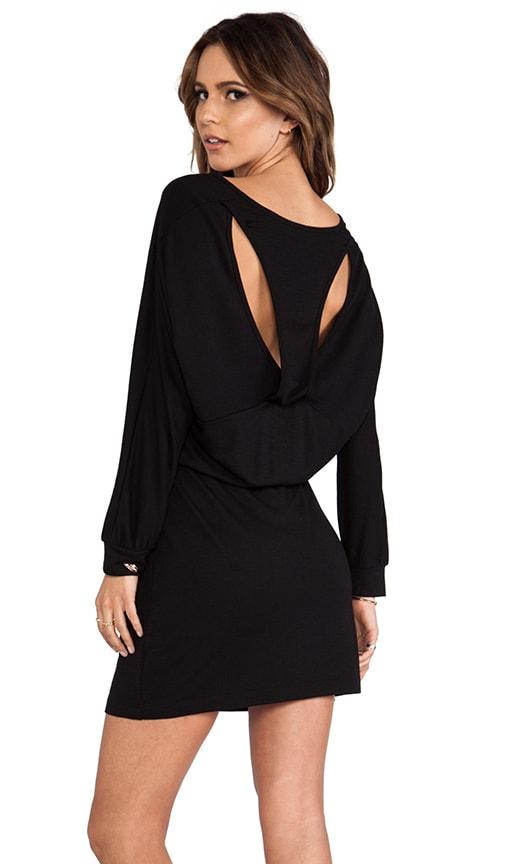 Cutout Racerback Mini Dress