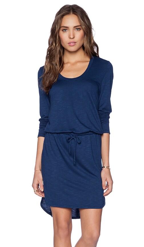 Scoop Long Sleeve Dress