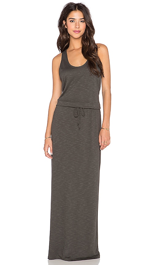 Lanston Racerback Maxi Dress in Forest