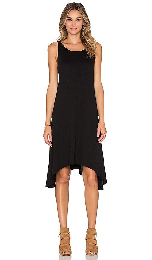 Lanston Swing Dress in Black