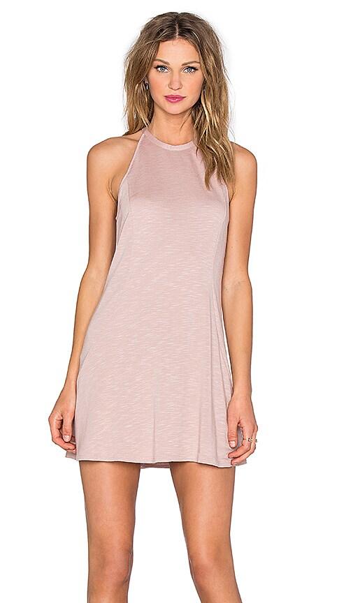 Lanston Dropwaist Dress in Blush