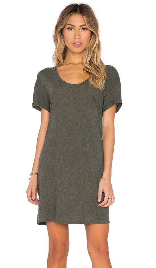 Lanston T Shirt Dress in Green