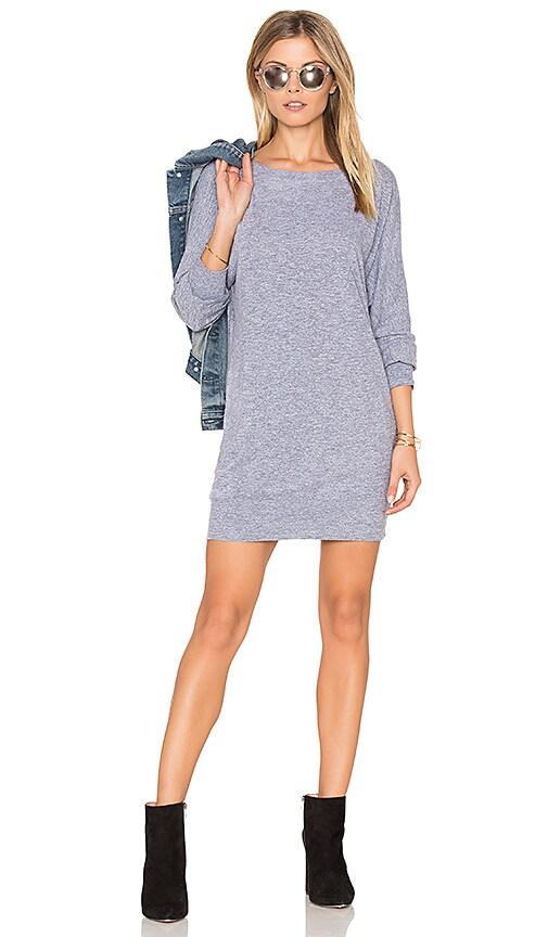 Lanston BF Mini Dress in Gray