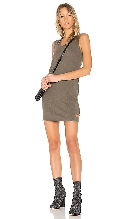 Lanston Cutout Mini Dress in Army