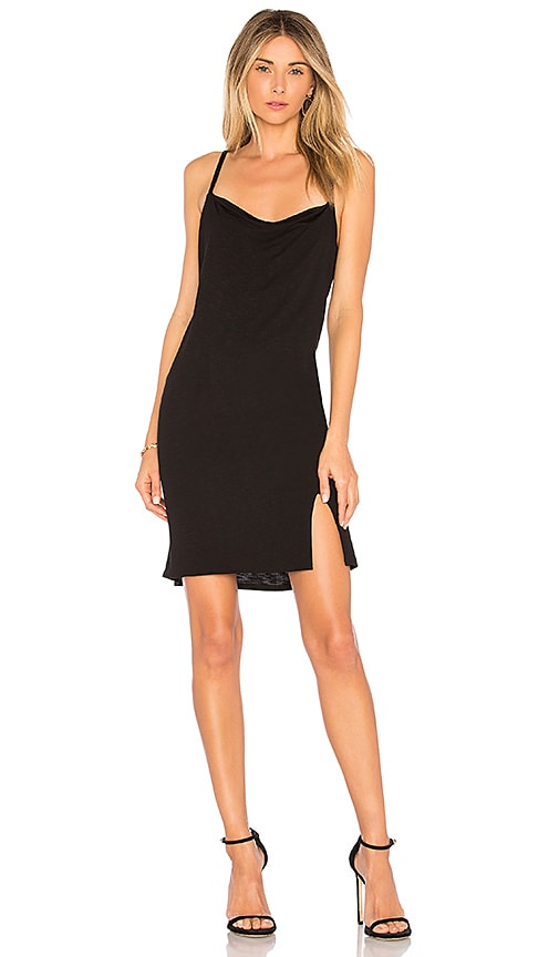 Lanston Slip Dress in Black