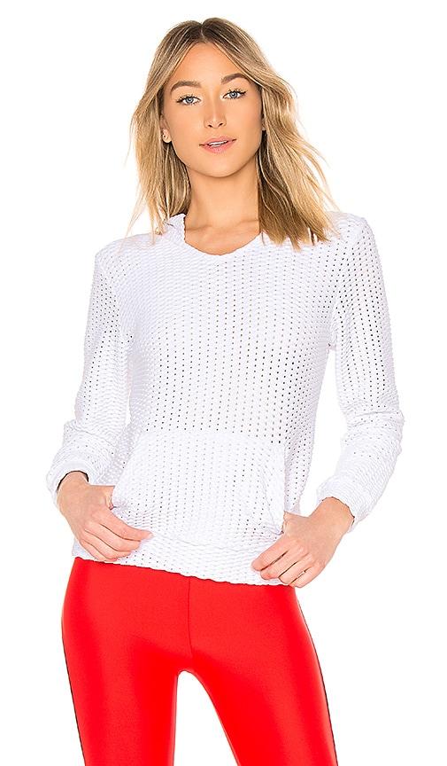 Lanston SPORT Dane Pullover in White