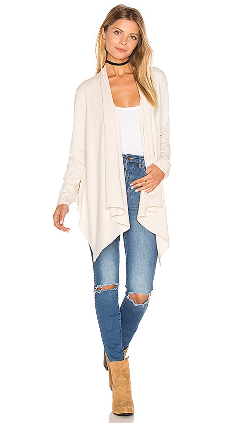 Lanston Drape Cardigan in Cream