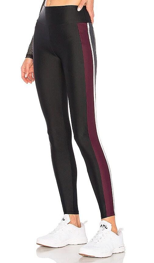 Lanston Sport Verve Colorblock Legging in Black