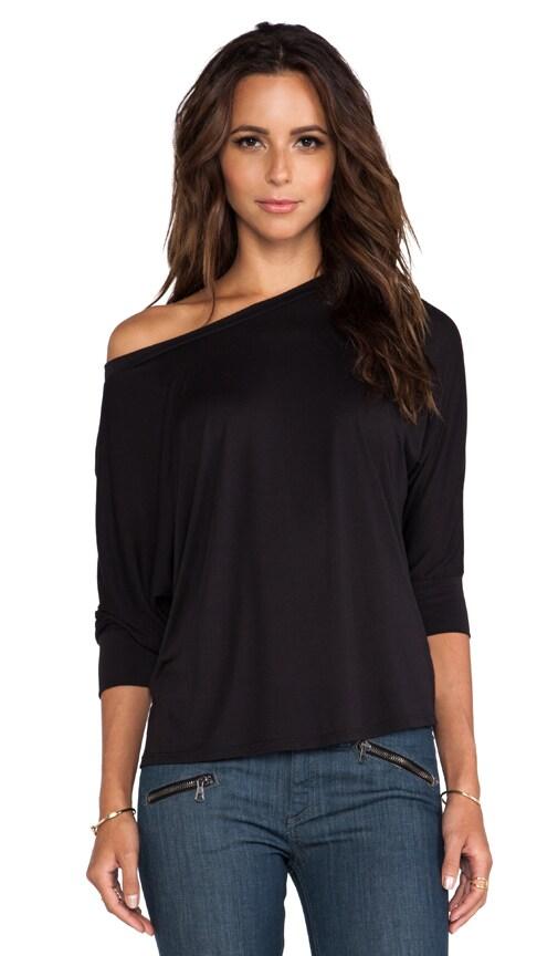 3/4 Sleeve Boyfriend Sweatshirt
