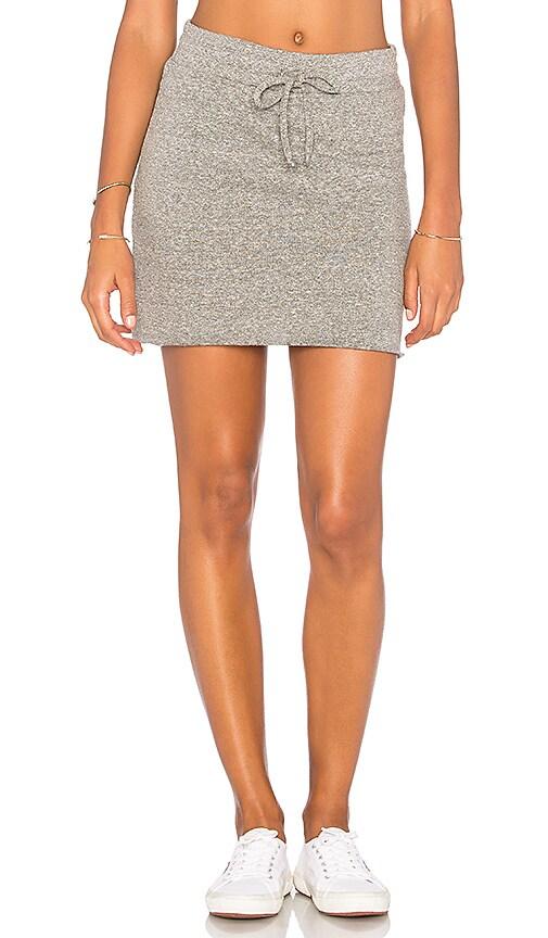 Lanston Drawstring Skirt in Gray