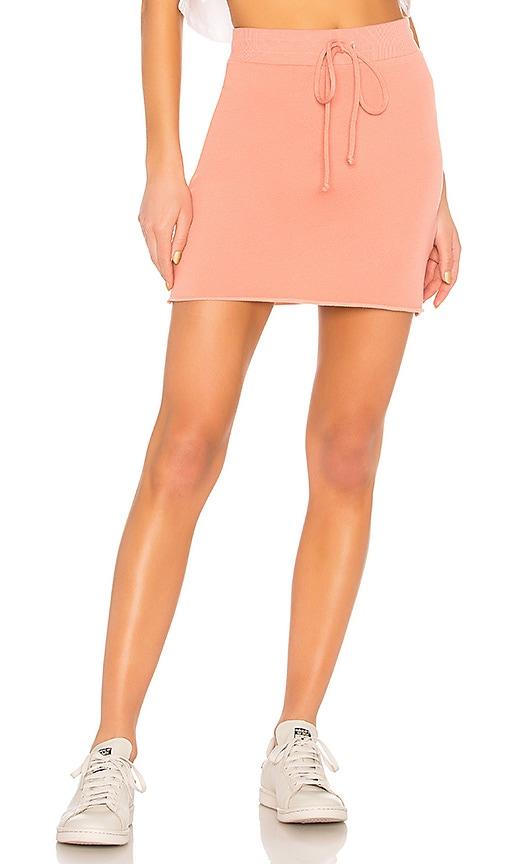 Lanston Mini Skirt in Coral