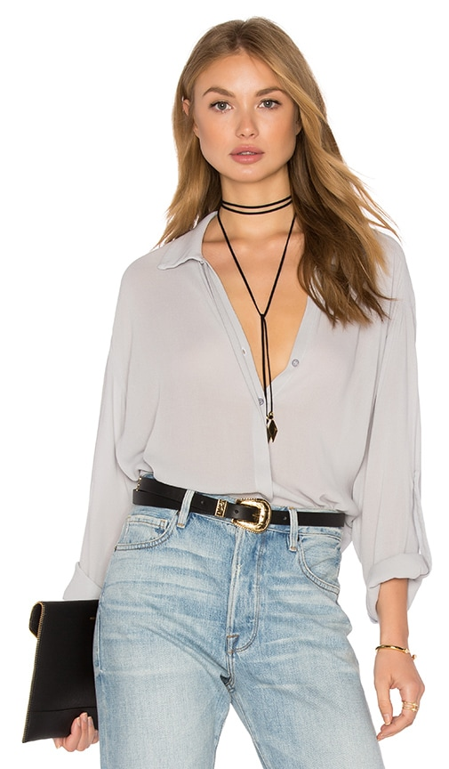 Lanston Button Down Shirt in Gray