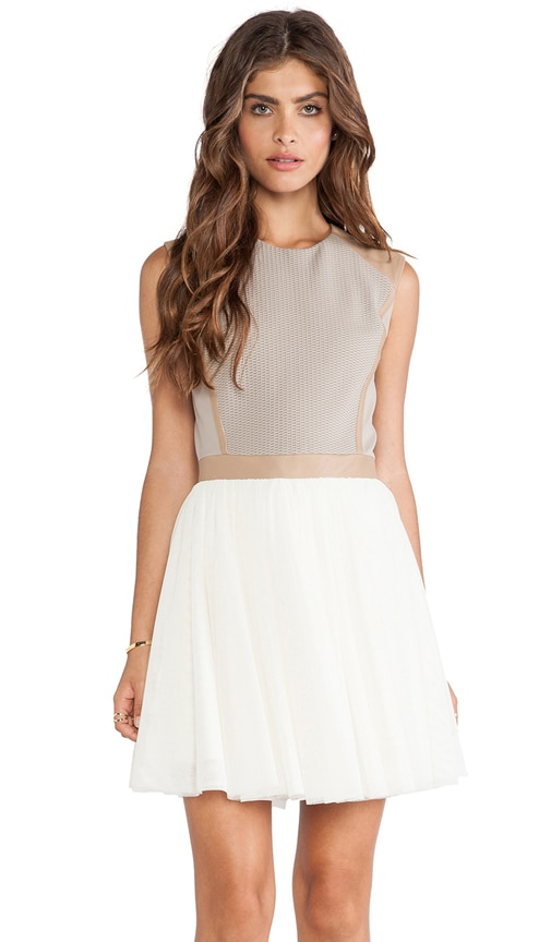 LaPina Cheryl Textured Weave Dress
