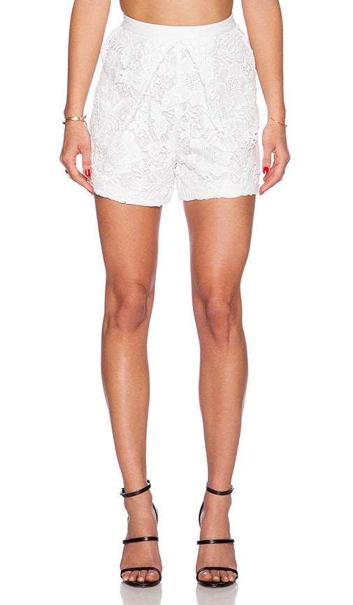 LaPina by David Helwani Hudson Short in White