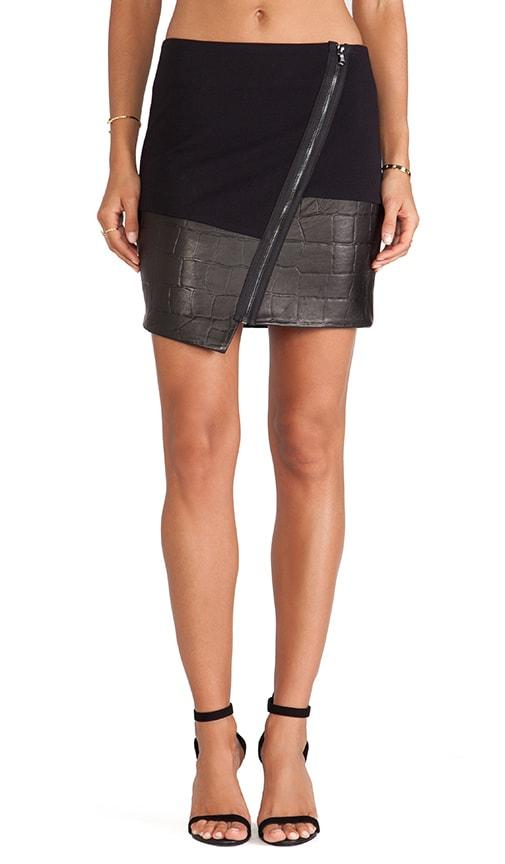 LaPina Natasha Asymmetric Hem Skirt